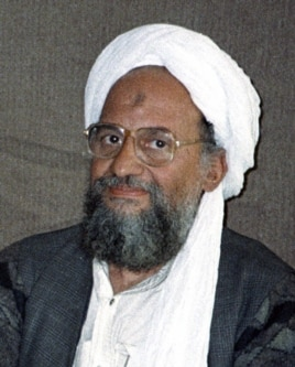 Al-Qaida chief Ayman al-Zawahiri, November 10, 2001.
