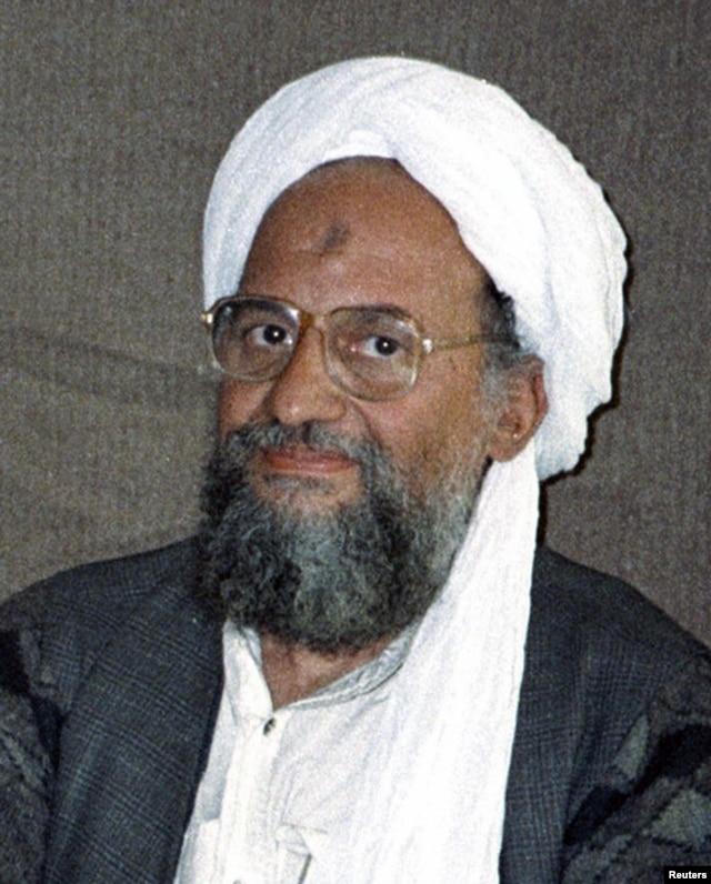 Al-Qaida chief Ayman al-Zawahiri, November 10, 2001.