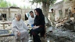 آنجلینا جولی می گوید پاکستان برای مقابله با مصیبت سیل نیاز به کمک های بشردوستانه دراز مدت دارد