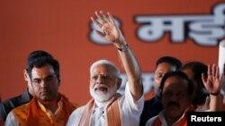 အိႏၵိယေရြးေကာက္ပြဲ ဝန္ႀကီးခ်ဳပ္မိုဒီရဲ႕ BJP ပါတီ အသာစီးရေန