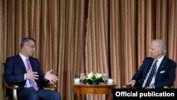 Joseph Biden dhe Hashim Thaci