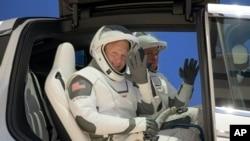 SpaceX တြင္ပါဝင္မယ့္ နာဆာအာကာသယာဥ္မွဴးႏွစ္ဦး