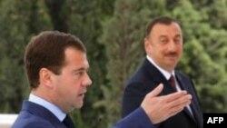 Дмитрий Медведев и Ильхам Алиев. Архивное фото.