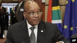President Jacob Zuma's administration insists that foreigners should apply for permits while in countries of their origin.
