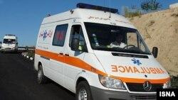 عکس آرشیوی از آمبولانس های ساخت شرکت آلمانی مرسدس بنز در ایران