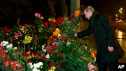 Владимир Путин. Волгоград, 1 января 2014г.