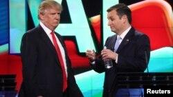 Дональд Трамп и Тед Круз