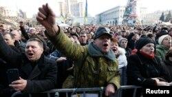 Sau hơn 3 tháng biến động, Tổng thống độc tài Yanukovych đã phải bỏ trốn khỏi thủ đô Kiev của Ukraina.