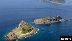 有争议的岛屿钓鱼岛