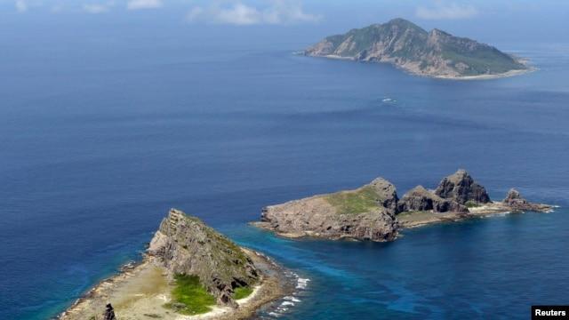 Nhóm đảo tranh chấp giữa Nhật Bản và Trung Quốc ở biển Đông Trung Hoa. REUTERS/Kyodo