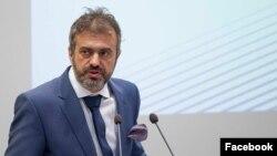 Sergej Trifunović, predsednik Pokreta slobodnih građana (Foto: Fejsbuk stranica PSG)
