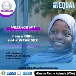 Première affiche de la campagne, 17 juin 2019 à Cotonou, Bénin. (VOA/Ginette Fleure Adande)