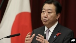 노다 요시히코 일본 총리(자료사진)