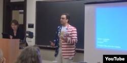 Bernie Sanders delegate Shane Assadzandi
