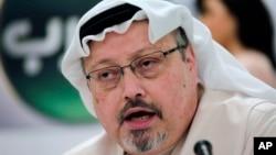 រូបឯកសារ៖លោក Jamal Khashoggi អ្នកកាសែតអារ៉ាប៊ីសាអូឌីតមានមូលដ្ឋានក្នុងស.រ.អា។