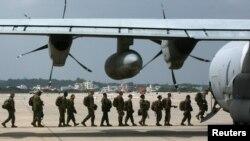 Pangkalan Udara Korps Marinir AS di Futenma, Okinawa, Jepang (foto: dok).