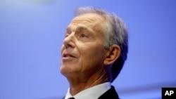 Mantan PM Inggris Tony Blair (Foto: dok).