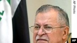 Obama, Talabani Meet at White House