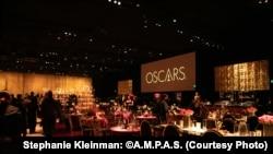 Ruang pesta Oscars 2019 di Dolby Theatre, Hollywood, CA (dok: Stephanie Kleinman: ©A.M.P.A.S.)