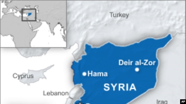 8 Killed in Syrian Security Force Raids