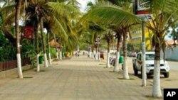 Aspecto da cidade do Sumbe