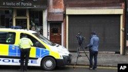 英国警方星期四在议会大厦周围搜查(资料照片)