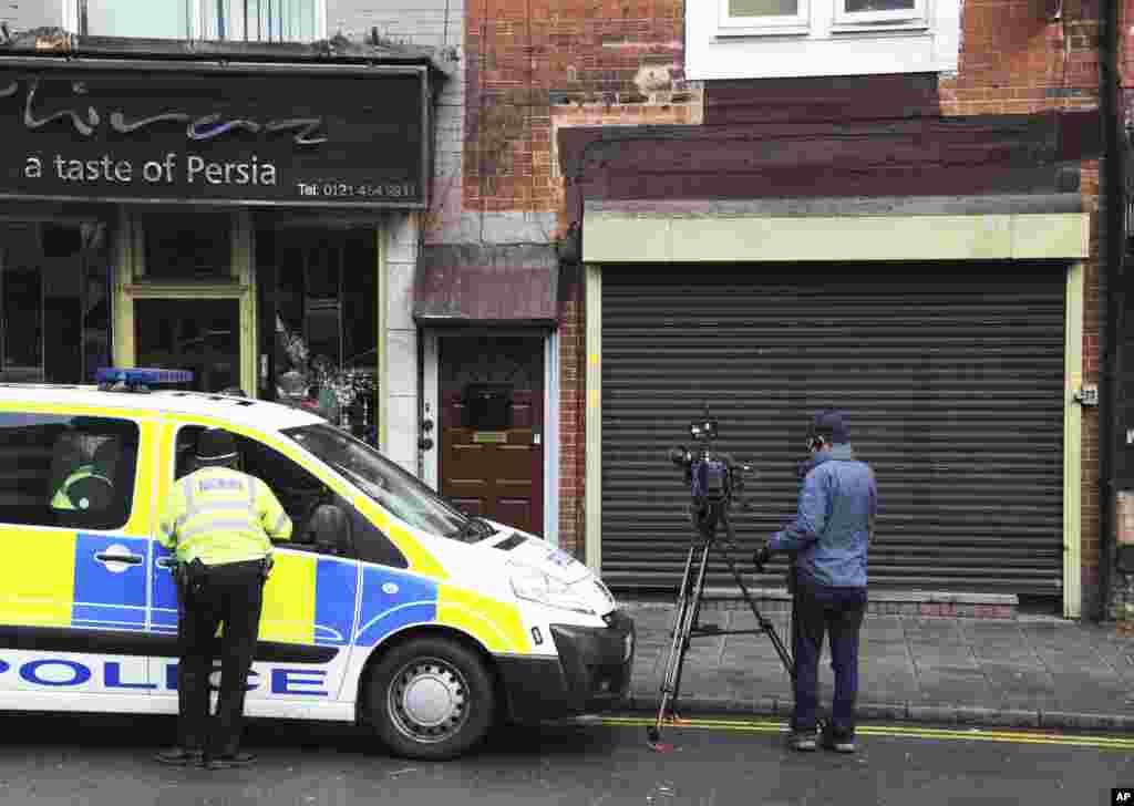 Полиция проводит обыск по делу о теракте.
