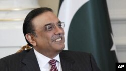 Pakistan's President Asif Ali Zardari is seen during a meeting with his Turkish counterpart Abdullah Gul (not pictured) in Istanbul November 1, 2011. Turkey hopes talks it is hosting between the presidents of Pakistan and Afghanistan in Istanbul on Tuesda