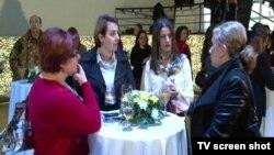 """Skup """"Mreže žena Kosova"""" na kojem je predstavljena inicijativa za rodno ravnopravni budžet, Priština 15. mart 2016."""