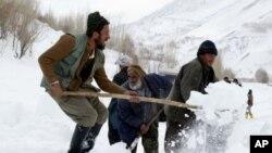 Các vụ tuyết lở thường xảy ra ở các vùng đồi núi nằm ở phía bắc và phía đông Afghanistan