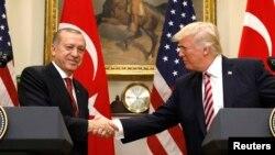 Реджеп Тайип Эрдоган и Дональд Трамп
