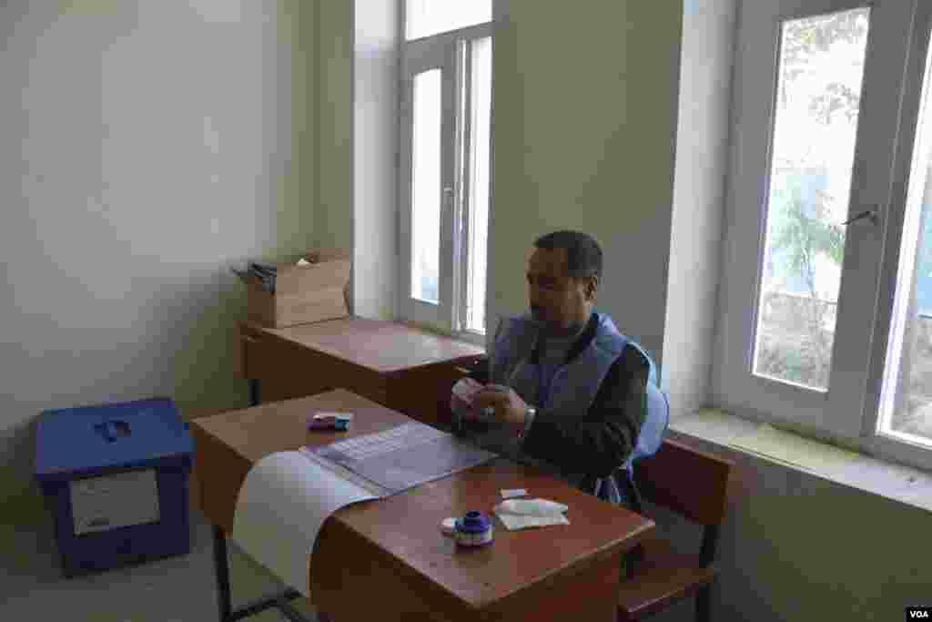 Afg'onistonda parlament saylovlari o'tkazildi.