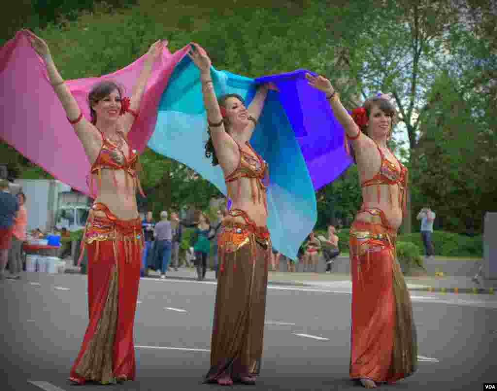 Танцовщицы belly dance (фотосессия)