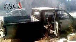شعار تظاهرات سوريه: «حمايت بين المللی بهترين راه حل است»