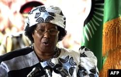 La présidente du Malawi, Joyce Banda (archives)
