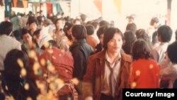 Khách du xuân Hội Tết Quý Hợi 1983. (Ảnh: Bùi Văn Phú)