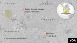 Tornadoes in Western U.S.
