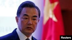 中國外長王毅2014年9月29日訪墨西哥3日之行時的資料照。