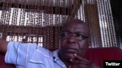 Alain Shungu, libéré après une nuit de garde à vue dans une prison congolaise le 19 juin 2016.