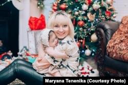 Мар'яна Тененіка з донькою Елсі