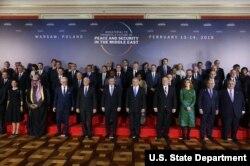 Varshava konferensiyasida 60 ga yaqin davlat qatnashgan