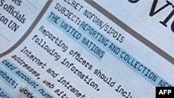Špijunirati diplomate u UN-u - korak preko dozvoljene granice