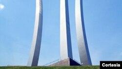 Monumento a la Fuerza Aérea de EE.UU., en Arlington, Virginia.