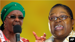 The Zanu PF Women's League boss said some people in Zanu PF make the mistake of thinking that President Robert Mugabe can stop her in her tirades against perceived enemies.