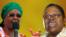 WARRING: First Lady Grace Mugabe and Vice President Joyce Mujuru (Collage by Ntungamili Nkomo)