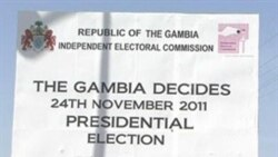 Gambian Leader Runs for Re-Election in Criticized Poll