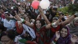 راهپيمايی زنان در کراچی برای حقوق مساوی