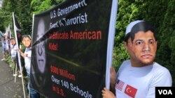 TURKEY GULEN PROTESTS