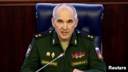 俄羅斯軍事發言人伊戈爾科納申科夫。