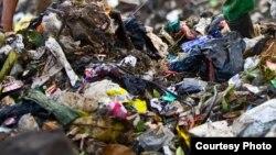 Los residuos plásticos son un problema real en muchos países pobres.